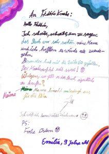 Emilie, 9 Jahre